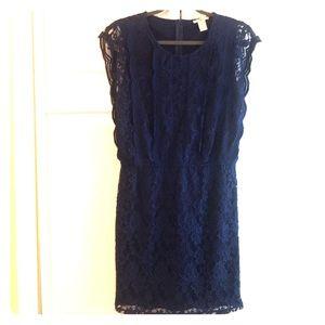 Navy Bar III dress